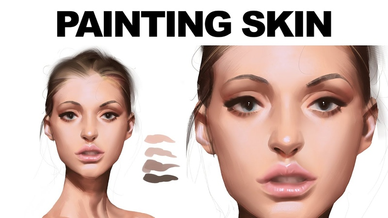 This 1 Minute Digital Painting Tutorial will Teach you More Than You Expect
