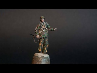 Figure Painting 'My way' - Alpine Miniatures 1/35 12th SS 'HJ' Grenadier NCO