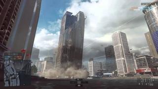 Battlefield 4 Siege of Shanghai Tower collapse