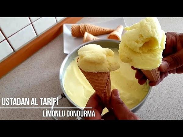 Evde Gerçek Limonlu Dondurma Tarifi Bütün Püf Noktalarıyla Limonlu Dondurma Nasıl Yapılır