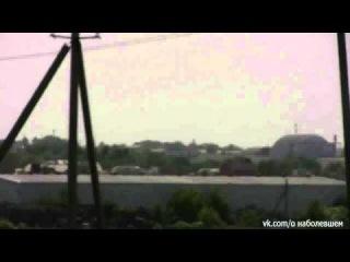 Донецк :  Украинские вертолёты   атакуют аэропорт