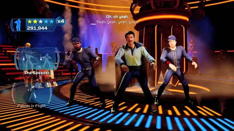 Kinect Star Wars I m Han Solo Dancing