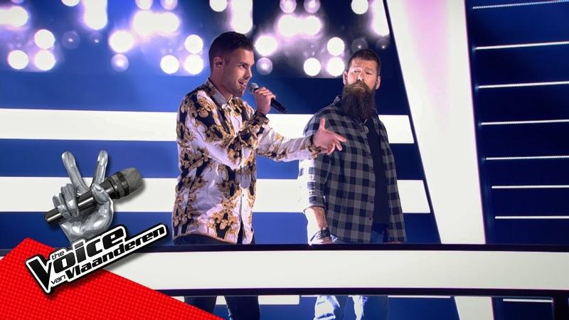 Karim vs Wim 'White Room' Battles The Voice Van Vlaanderen VTM