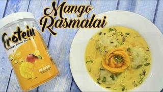 Frotein Mango Rasmalai   #ChefHarpalSIngh
