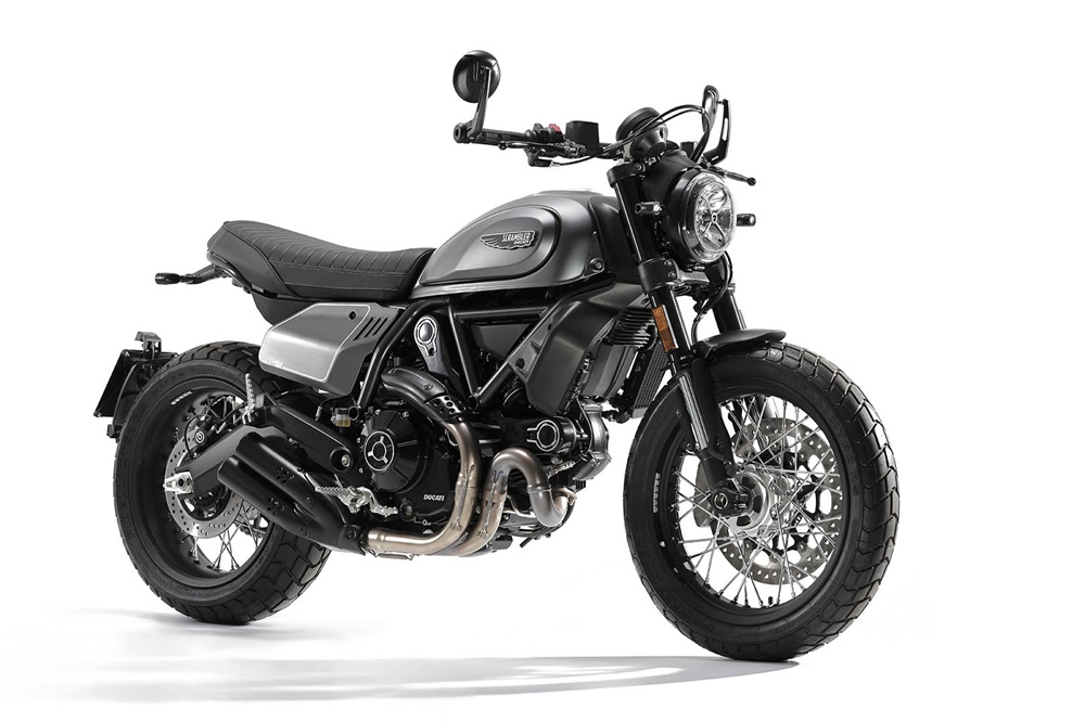 Новый мотоцикл Ducati Scrambler Nightshift 2021