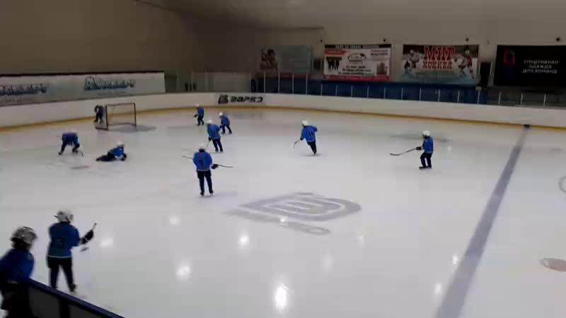 Снежинские Волчата Трактор2 за 3 место