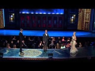 Tony Awards 2013 - Andrew Rannells, Megan Hilty, Laura Benanti