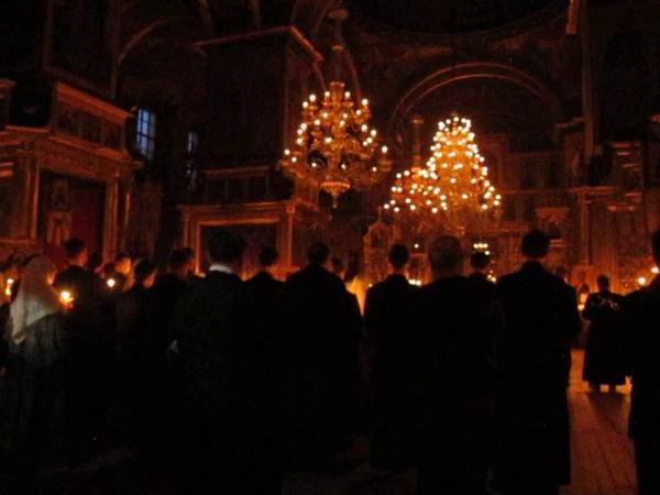 Старообрядцы Ответ коронавирусу Служба под Вербное воскресенье Великое Славословие Рогожское