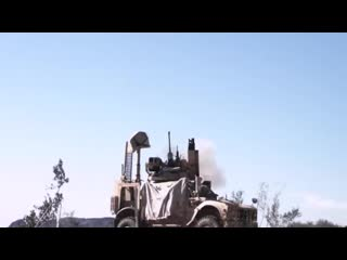 Raytheon Coyote 2 Interceptor Drone destroying test targets. Credit_ US Army