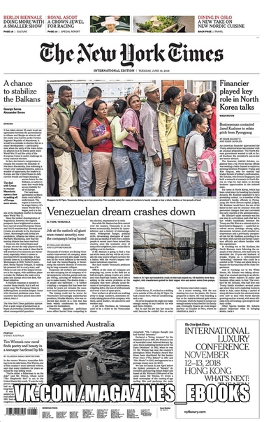 2018-06-19 The New York Times International Edition