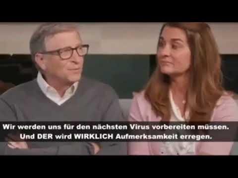 Drohung von Bill Gates Pandemie Nr 2 mit Killervirus