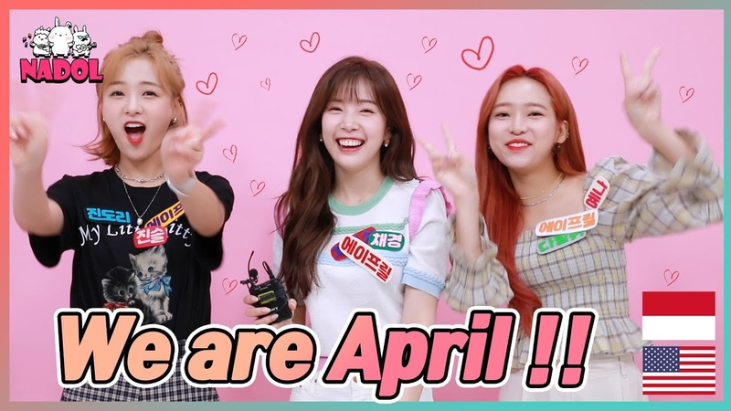 [Preview]April Jin Sol Chae Kyung Yena(에이프릴 진솔, 채경, 예나) visited the Idol Ground! [ENG, INDO SUB]