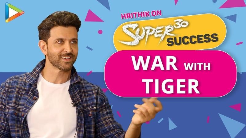 Hrithik Roshan EXCLUSIVE On WAR With Tiger Shroff Satte Pe Satta Remake Krrish 4 Super30