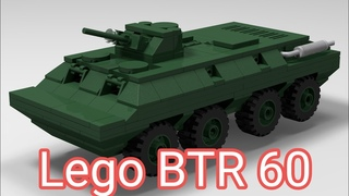 Instruction BTR 60 Lego tutorial how-to Лего самоделки
