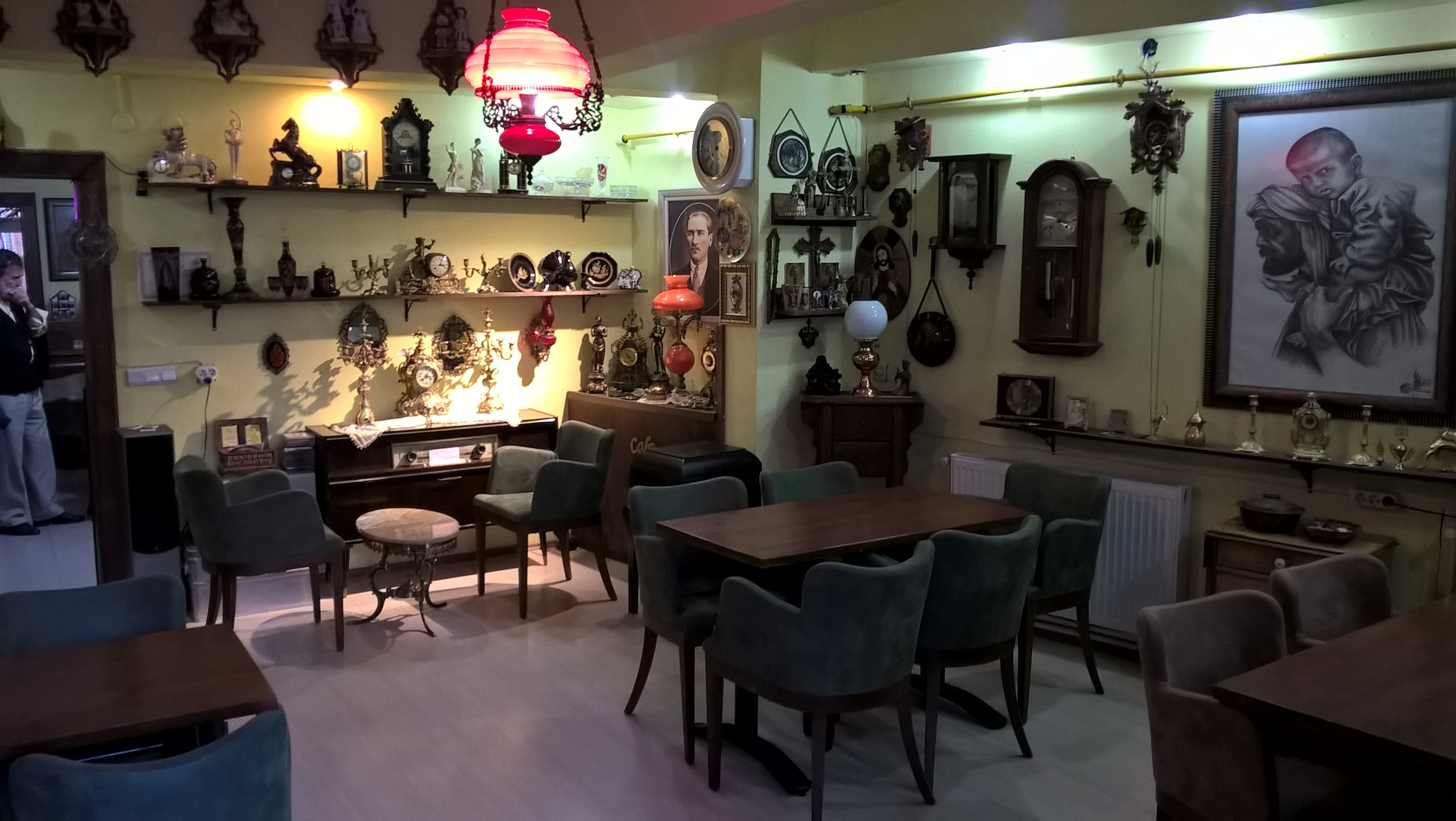 Антикварное кафе в Эскишехир