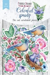 Набор высечек коллекция Colorful spring 60 шт 170,00 р. В наличии 1 шт.