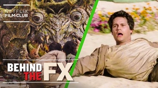 Dylan O'Brien Breaks Down The Visual Effects In Love and Monsters   Netflix
