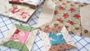 Easy Spool Quilt Block Featuring Precut Fabrics by Edyta Sitar Fat Quarter Shop