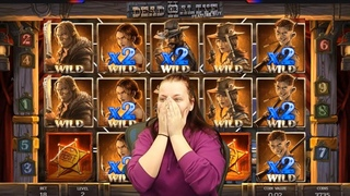 TOP 5 RECORD WINS OF THE WEEK ★ CRAZY WILDLINE 13385X ON DEAD OR ALIVE 2 SLOT