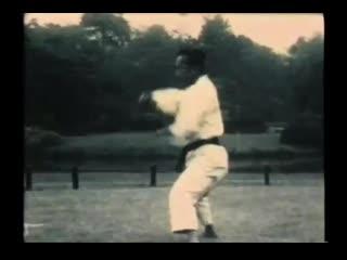 """Учебный фильм """"Динамика техники каратэ-до Шотокан"""" ч.2. (1954 г.)"""