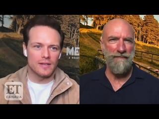 'Outlander''s Sam Heughan & Graham McTavish On New Series 'Men In Kilts'