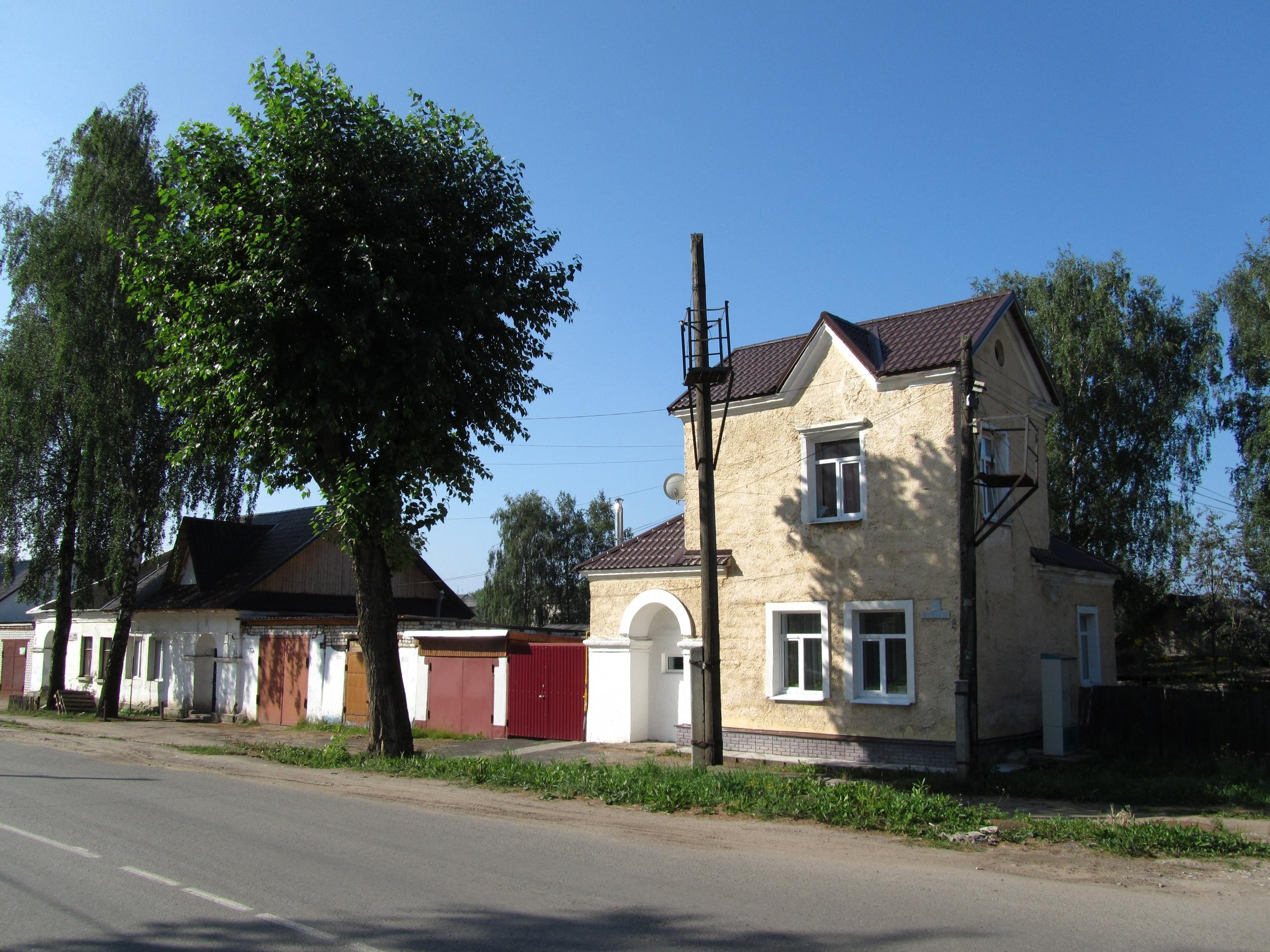 Дома немецкие в Соликамске