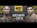 Исраэль Адесанья vs Пауло Коста Face to Face UFC 253 Paulo Costa face to face Israel Adesanya