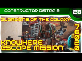 LEGO - Guardians of the Galaxy - Knowhere Escape Mission (76020)