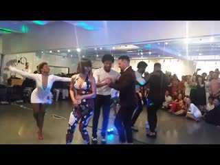 Daniel Sanchez, Terry SalsAlianza, Desiree Guidonet and Cecile Ovide Salsa Show at King&Queen Salsa Bachata Dance Festival