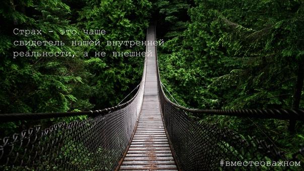 Как только у нас появляется страх отпустить что-то или кого-то, мы становимся зависимыми от этого