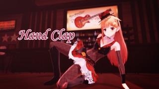 【MMD艦これ】秘密のバーの夕立ちゃん【Hand Clap】