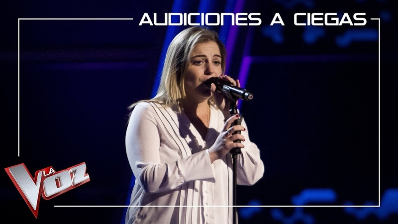 Apryl Scemama canta 'Comme d' habitude' Audiciones a ciegas La Voz Antena 3 2019