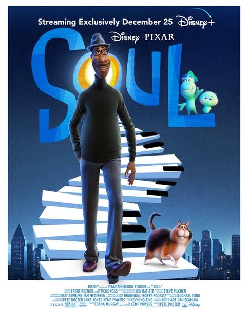 «Душа» официально идёт по следам «Мулан» и выйдет на Disney+ 25 декабря