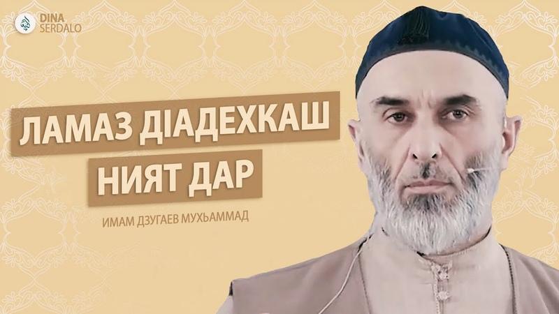 Ламаз дlадехкаш ният дар Имам Дзугаев Мухьаммад