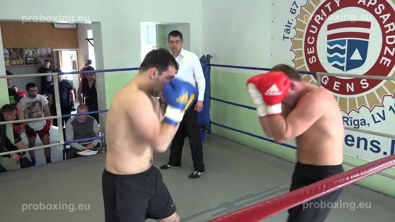 22.04.2015 Ruslans Pojoniševs (Rīga) VS Elanas Mirskis (Rīga) proboxing.eu