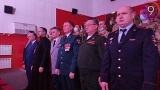 Торжественное мероприятие, посвященное пятилетию образования войск национальной гвардии РФ