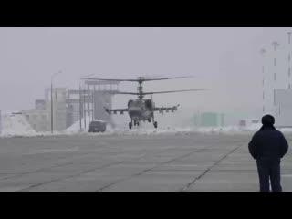 Командирские полеты экипажей штурмовиков Су-25 и вертолетов Ка-52.