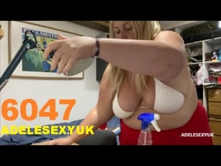 BBW ADELESEXYUK BUSY CLEANING THE BOYS BEDROOM