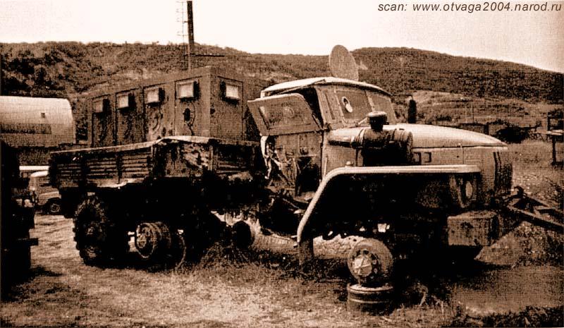 Несмотря на фатальные разрушения от взрыва фугаса автомобиля «Урал», броня и мешки с песком сдержали ударную волну. Экипаж остался жив. Чечня, 2002 год