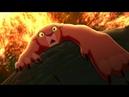 Кову спасает Киару. Король Лев 2: Гордость Симбы (1998) год.
