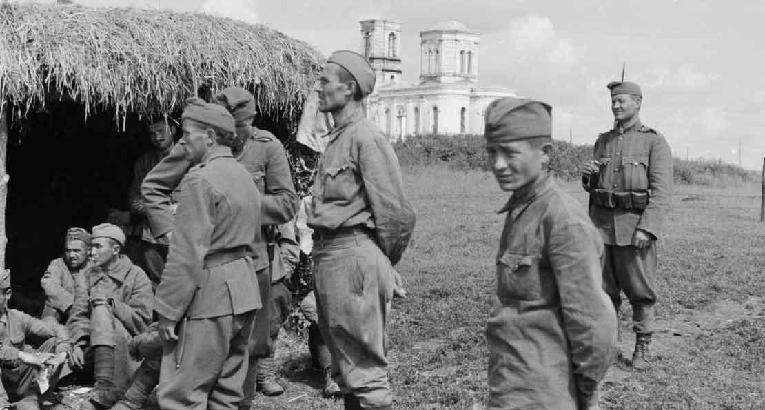 Венгры и пленные РККА
