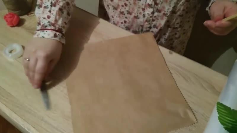 Букеты из мыла ручной работы Сборка и упаковка