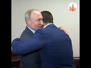 Владимир Путин встретился с Хабибом