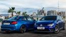 BMW M2 против VOLKSWAGEN GOLF R. Каха и Чуня.