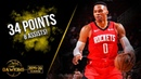 Russell Westbrook Full Highlights 2019 12 09 Rockets vs Kings 34 Pts 8 Asts FreeDawkins