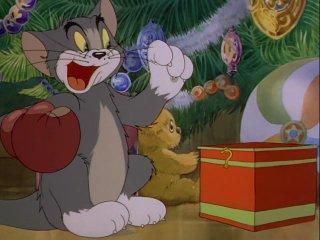 """Рождественский """"Том и Джерри"""", старый всеми любимый мультик :))) С наступающим НОВЫМ ГОДОМ!!! :)))"""