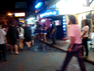 Прогулка по walking street, Pattaya, Tailand (: