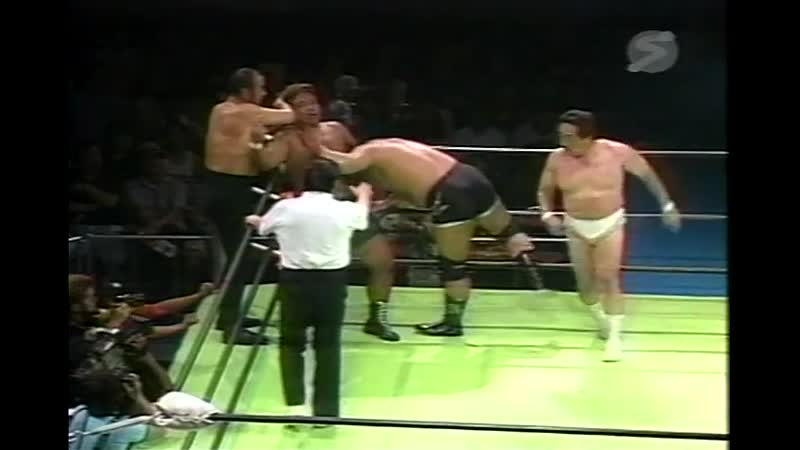 2000.08.05 - Rusher KimuraMitsuo MomotaTakeshi Rikio vs. Haruka EigenTsuyoshi KikuchiJun Izumida