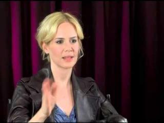 Sarah Paulson interviewed by her sister Rachel Paulson