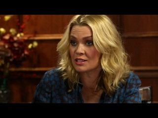 David Morrissey (The Governor) and Laurie Holden (Andrea) on Larry King Now
